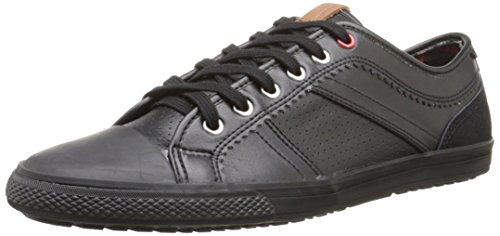 Ben Sherman Men's Madison Fashion Sneaker, Black, 46 EU/13 M US - Ben Sherman Lace Shoes
