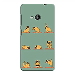 Cover It Up Dog Yoga Hard Case For Microsoft Lumia 535