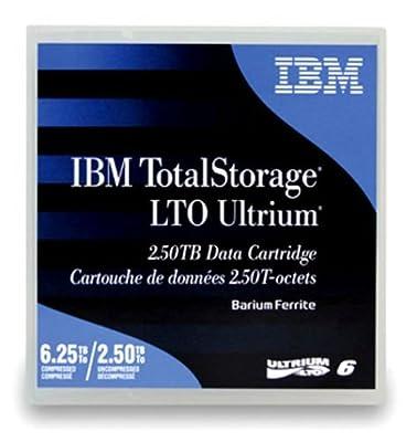 5-Pack IBM LTO 6 Ultrium 00V7590 (2.5/6.25 TB) Data Cartridge from IBM
