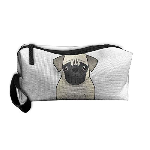 Jessent Coin Pouch Sadly Bulldog Pen Holder Clutch Wristlet Wallets Purse Portable Storage Case Cosmetic Bags Zipper (Cleansers Jessica)