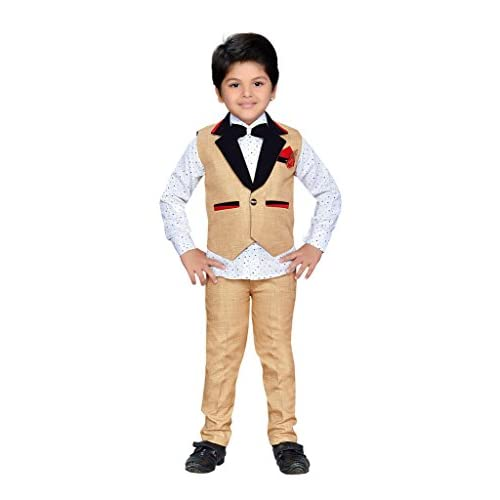 d2981bfdd AJ Dezines Kids Indian Wear Bollywood Style Shirt Waistcoat and Pant ...