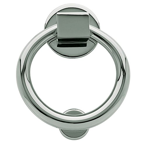 Baldwin 0195.260 Ring Door Knocker, Chrome