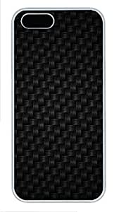 iPhone 5 5S Case Patterns black dots 2 PC Custom iPhone 5 5S Case Cover White