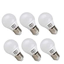 ChiChinLighting- 6 Bulbs per Pack 12v Low Voltage 7Watt LED Light Bulb- E26/E27 Light Bulb 12v- Cool White Light 6000k 7w Light Bulb- 40 Watt Halogen Bulb Equivalent- Off Grid Solar System LED Light
