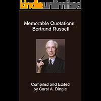Memorable Quotations: Bertrand Russell