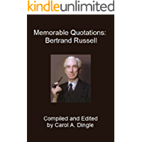 Memorable Quotations: Bertrand Russell (English Edition)