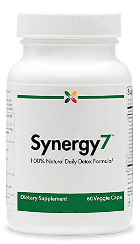 Stop Aging Now Synergy7 Daily Detox Formula Veggie Caps, 6-Pack by Stop Aging Now