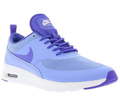 Nike Air Max Thea Damen Laufschuhe Azul (gesso Blu / Prsn Viola-bianco)