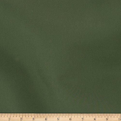 Green Stretch Twill - TELIO Chichi II Cotton Nylon Stretch Twill Bottom Weight Dark Green Fabric By The Yard