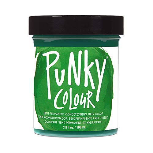 neon green hair dye permanent - 6