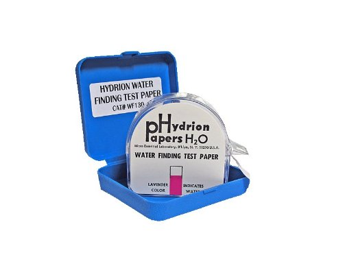 Hydrion Water Finder Tester  1/2 Inch  Wide by 50 Foot Roll