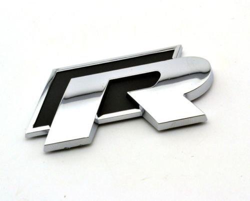 Rline 3D in lega di metallo auto avvio posteriore ala parafango nero sticker badge G4UU
