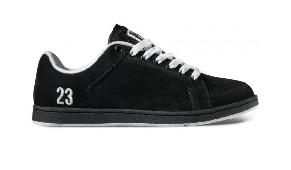 Etnies Sal 23, Black/White, Size