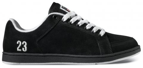 Etnies Sal 23, Black/White, Size 5