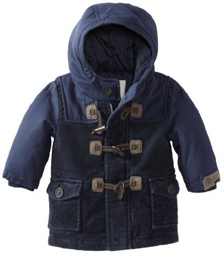 Diesel Baby Boys' Jieseb Corduroy Jacket with Toggles, Navy, 6 Months