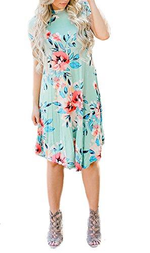 Island Floral Print Dress - 6