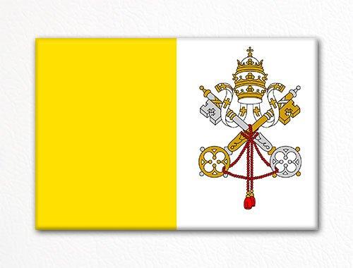 Vatican City Flag Rome Italy Fridge ()