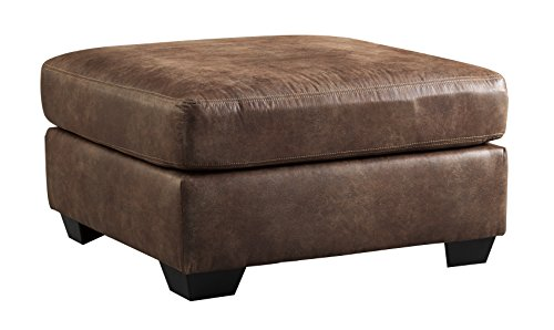 Ashley Furniture Signature Design - Bladen Contemporary Oversized Accent Ottoman - Coffee Brown