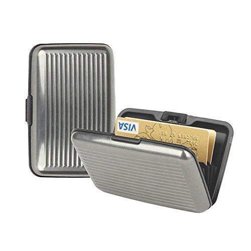 Slim Business ID Credit Card Wallet Holder Aluminum Metal Pocket Case Box Purse - Cleveland Eyeglasses