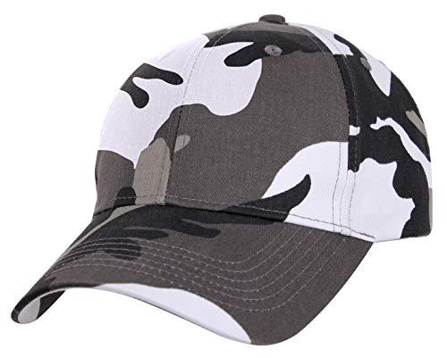 Profile Supreme Cap Low - Rothco Supreme Camo Low Profile Cap, City Camo, One Size