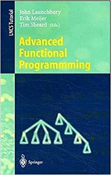 Book Advanced Functional Programming: Second International School, Olympia, WA, USA, August 26 - 30, 1996, Tutorial Text (Lecture Notes in Computer Science) (2008-06-13)