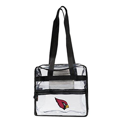 - The Northwest Company NFL Arizona Cardinals Zone Stadium Friendly Tote Clear Zone Stadium Friendly Tote, Clear, One Size