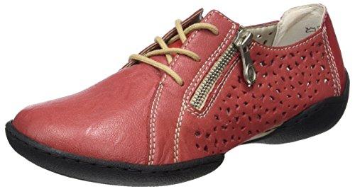 58825 Rosso Derby Rot Stringate Scarpe Rosso Rieker Donna aRqUU