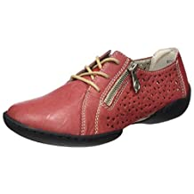 Rieker womens Low shoes rosso/red