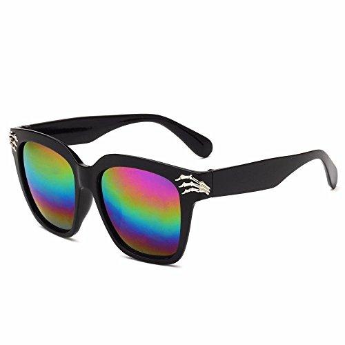 B Tendencia de creativos Axiba Regalos Nuevas Personalidad Gafas Dama Sol de cráneo Sol Gafas Retro de Garra Sol Gafas Hombre Z4HBTUzZr