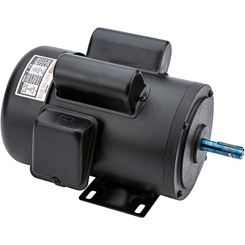 Grizzly H5381 Motor 1-1/2 HP Single-Phase 1725 RPM TEFC 110V/220V ()