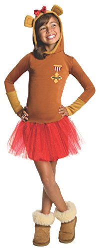 Lion From The Wizard Of Oz Costumes (Rubies Wizard of Oz Cowardly Lion Hoodie Dress Costume, Child Large)