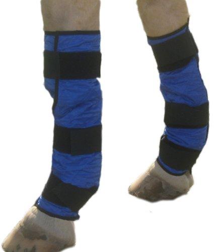HyperKewl Evaporative Cooling Leg Wrap, Small, Blue