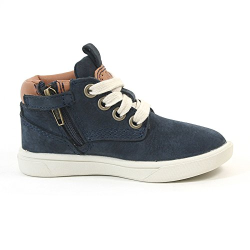 Timberland Toddler Groveton 6083B Nubuck Lace Up Boot Navy-Navy-4 Size 4