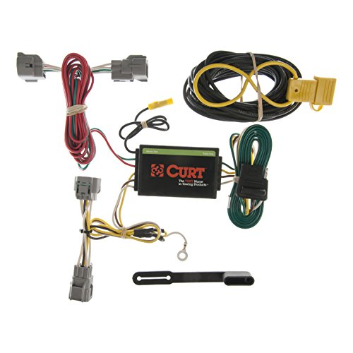 Grand Cherokee Trailer Towing Wiring (CURT 55349 Custom Wiring Harness)