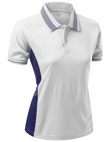 Women coolmax fabric sporty feel polo t shirt with collar for Polo t shirt design images
