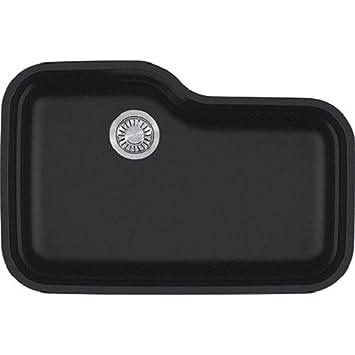 Franke ORG110ONY Orca Granite Undermount Single Bowl Kitchen Sink ...