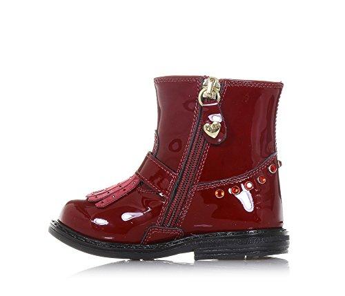 Fille in rouge TWIN qualité unique un d'haute est 25 design avec Made SET Italy en du typique qui vernis Bottine Filles 6qMpTEwU6r