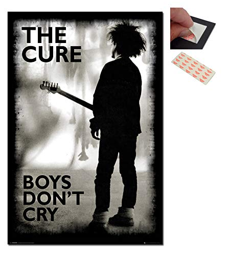 The Cure Boys Don't Cry Poster - 91.5 x 61cms (36 x 24 Inches)
