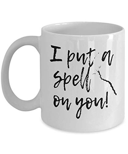 I put Spell on You Witchcraft Magic Spell Bewitching Haunted Halloween Party Coffee Mug Tea Cup Mug Gift Souvenir Giveaways 20/10 J