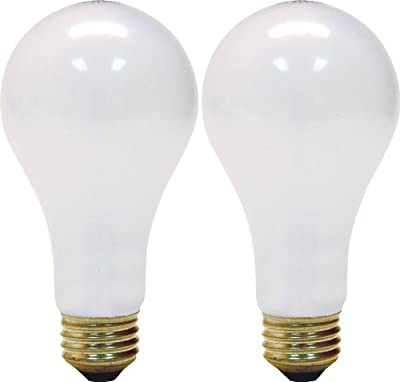 GE 3-Way Soft White 50/100/150 Watts Incandescent Bulb 2-Pack 1057951