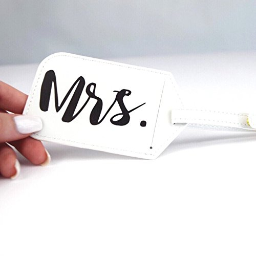 Dixie & Dot Mr. & Mrs. Luggage Tags (3-pack) by Dixie & Dot (Image #1)