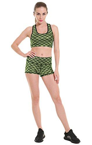 piezas Style de para ador amarillo o para Ba colores pesca ba 11 dos traje Bikini de Acvip claro mujer juego Z8Bq1n