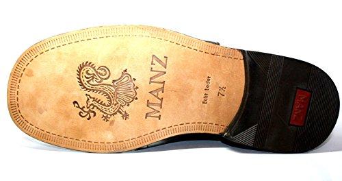 Manz, Espadrillas basse uomo Marrone marrone 44.5