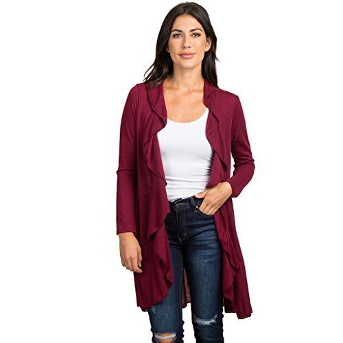 University Classic Pique Polo Shirt - TnaIolr Womens Long Cardigan Long Sleeve Open Front Split Knit Cardigan Sweater Long Maxi Cardigan