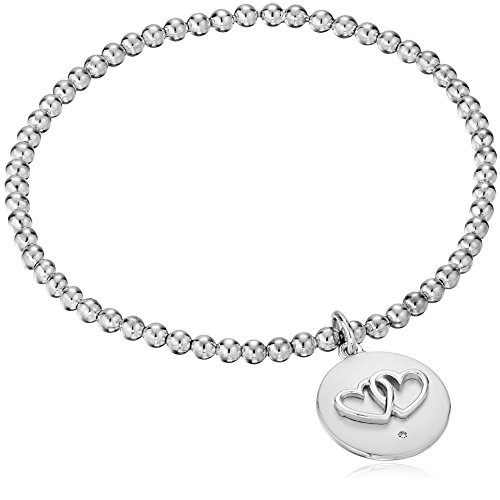 - Sterling Silver Diamond Accent