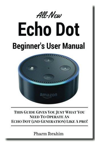 All-New Echo Dot Beginner's User Manual cover