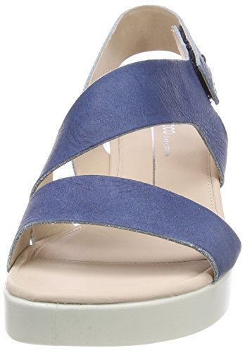 5 Blue 1321 Indigo WoMen Sandals Toe ECCO Nero Touch Open 84qYx1v