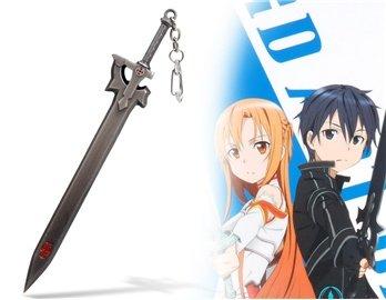 Amazon.com: Anime Espada Arte Forma llavero: Baby