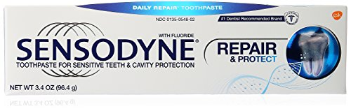 Sensodyne Repair and Protect Sensitivity Toothpaste for Sensitive Teeth Relief, 3.4 oz.