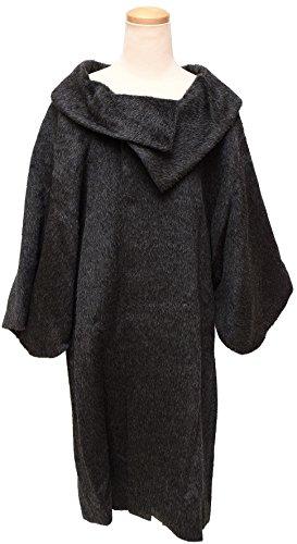 和ごころきもの屋 【アルパカ】和装コート 防寒コート【ロール衿】ロングコート koto-arpk11